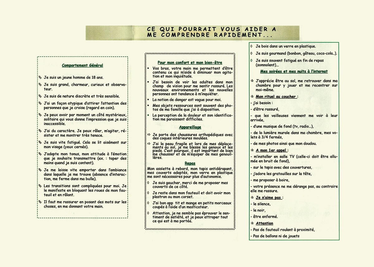Passeport recto/verso page 2